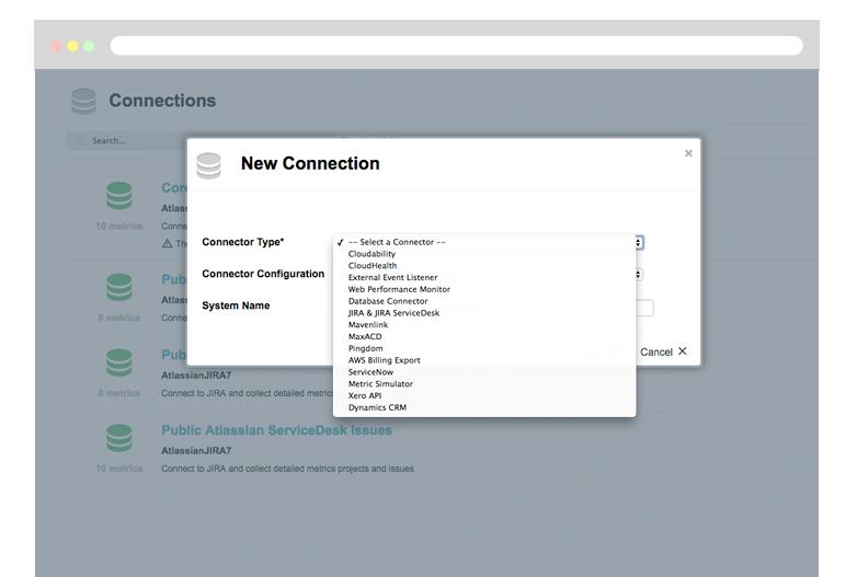 DevOps KPI reporting - Cloud Connectors